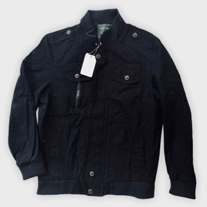 NWT Charlie Spang Cotton Cargo Military Jacket